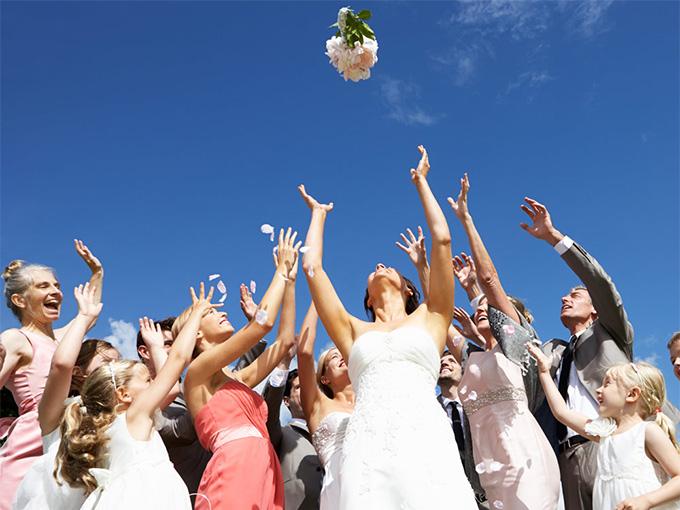 Як спіймати букет нареченої