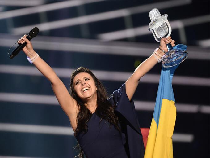 Джамала на Евровидении 2016