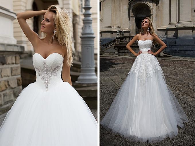 Коллекция свадебных платьев 2017 года от OKSANA MUKHA
