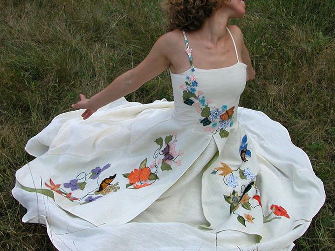 Свадебное платье сшитое своими руками