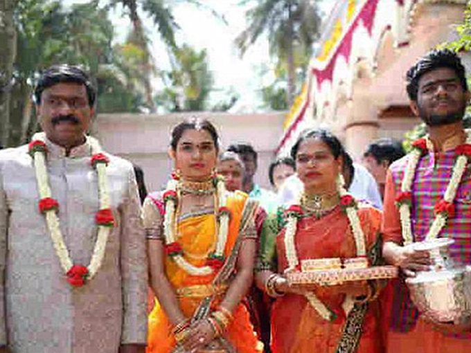 Свадьба дочери индийского политика