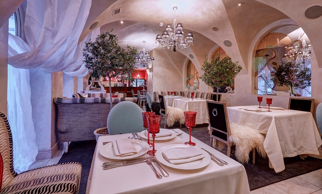 Зал ресторана 'Терраса'