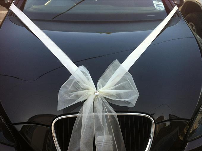 Бант для авто на весілля