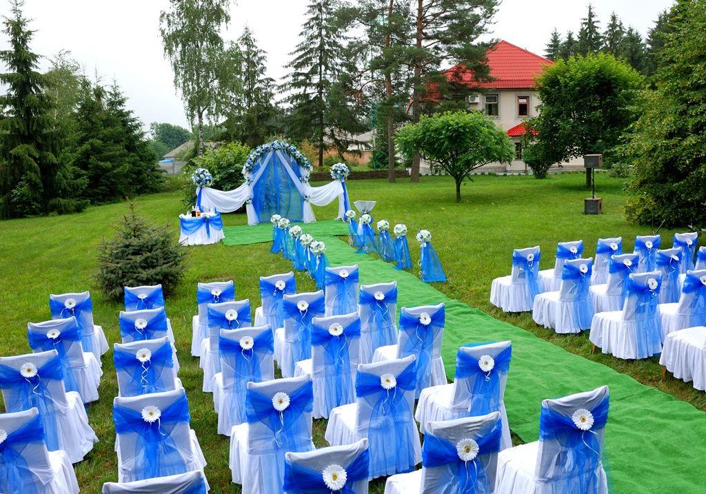 Оформление выездной церемонии от салона 'Надежда'