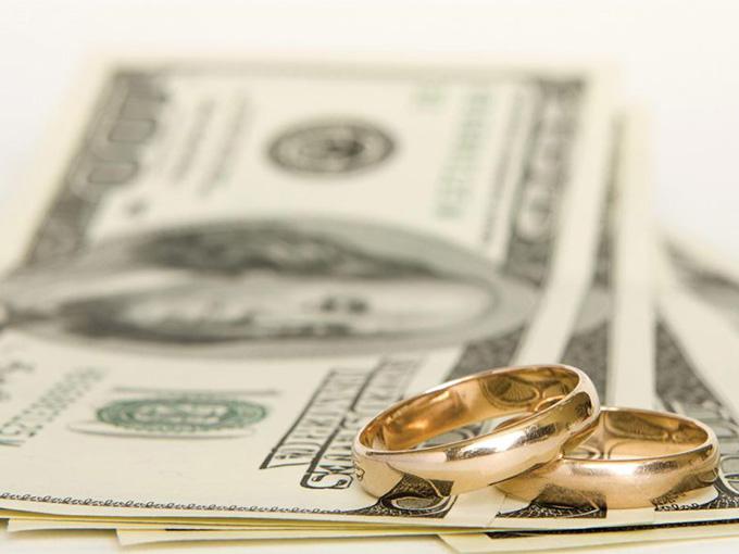 Гроші як подарунок на весілля