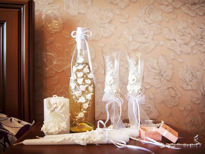 Вишуканий декор шампанського