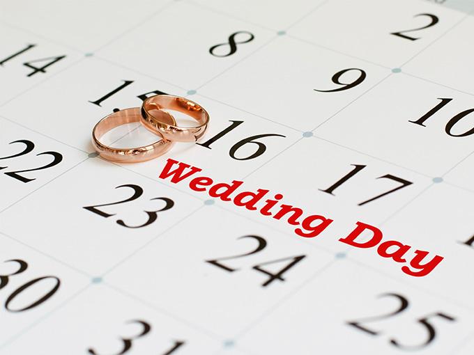 Самые красивые даты для свадьбы