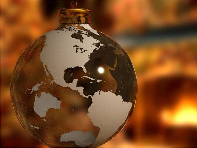 Навколо світу за Новорічну ніч