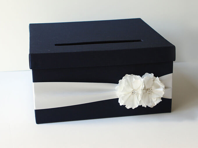 Коробка для грошей на весілля своїми руками