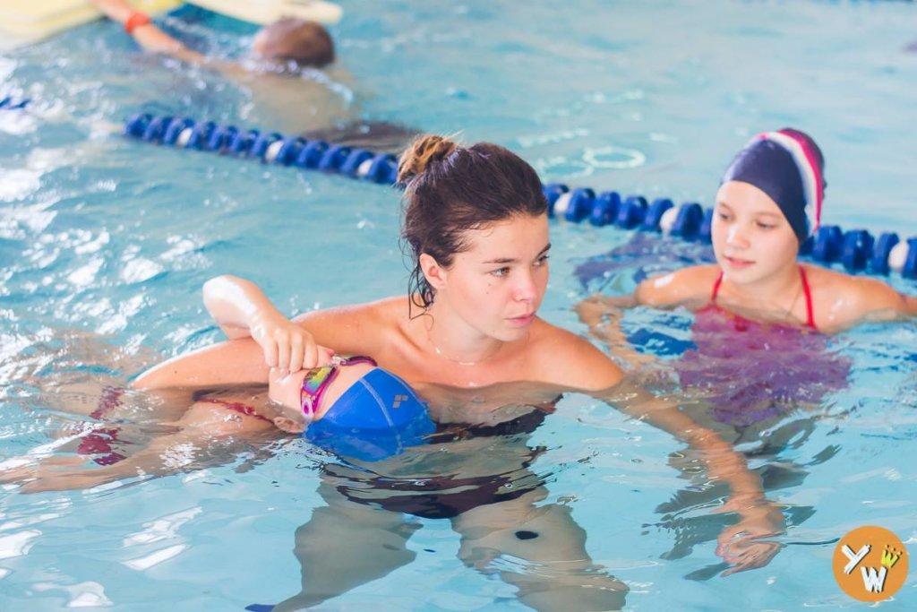 Групповые занятия по плаванию