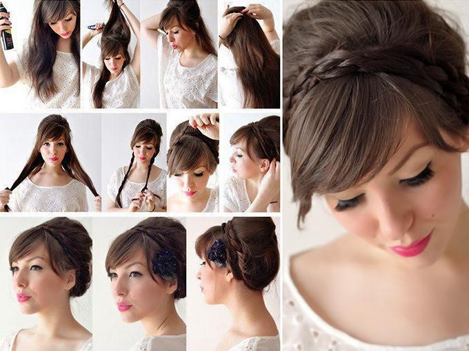 Робимо зачіску на весілля своїми руками
