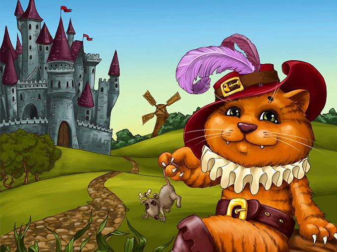 Интерактивный детский праздник 'Кот в Сапогах'