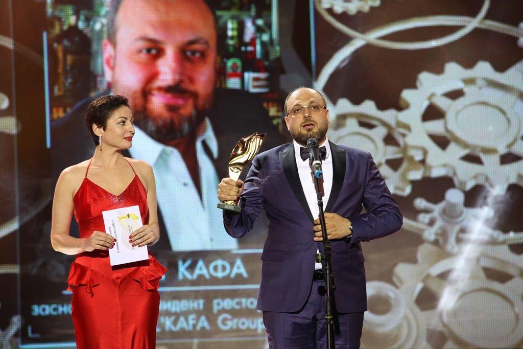 'Лидер ресторанного бизнеса года' Усама КАФА