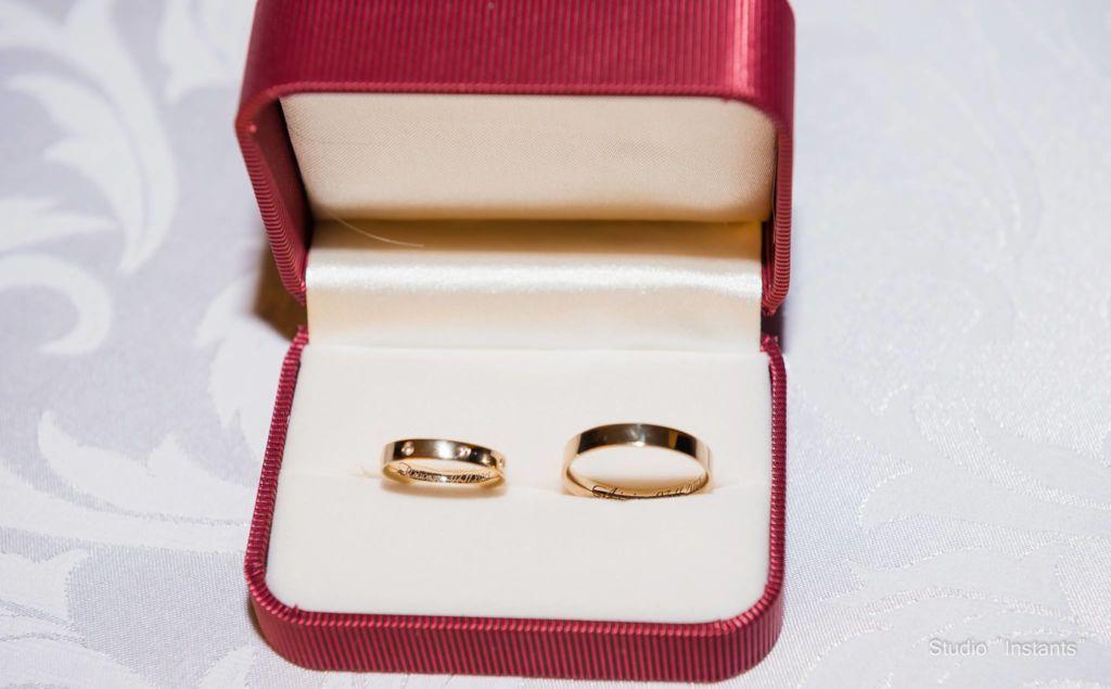 Кольца для Димы и Лили