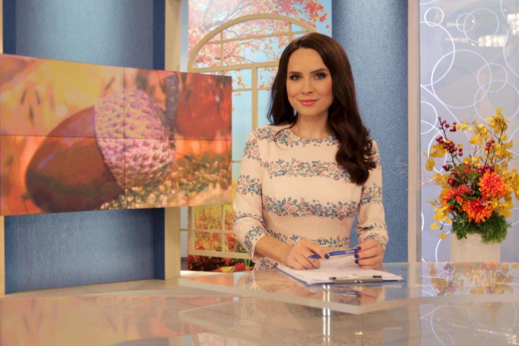 Популярная ведущая телеканала 'Интер' - Анастасия Даугуле