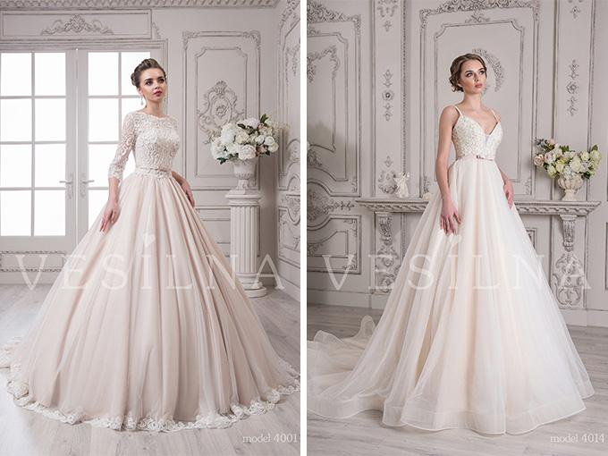 Новая коллекция свадебных платьев 2017