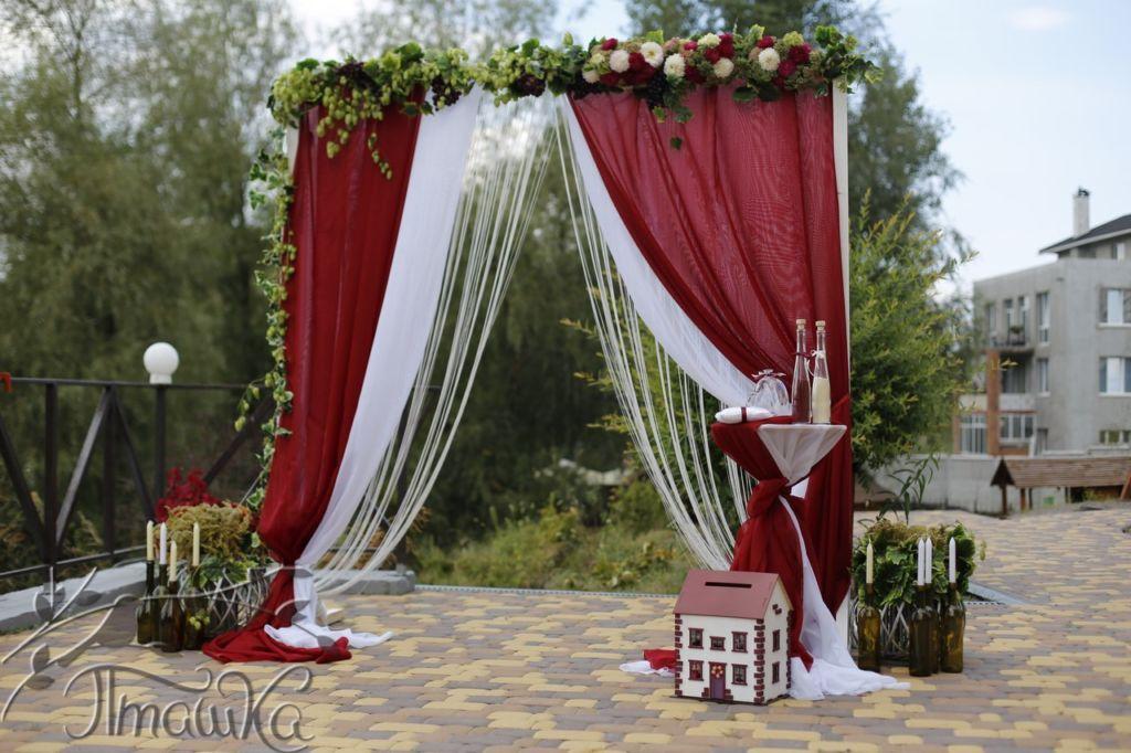 Благотворительный проект 'Свадьба мечты', Арка