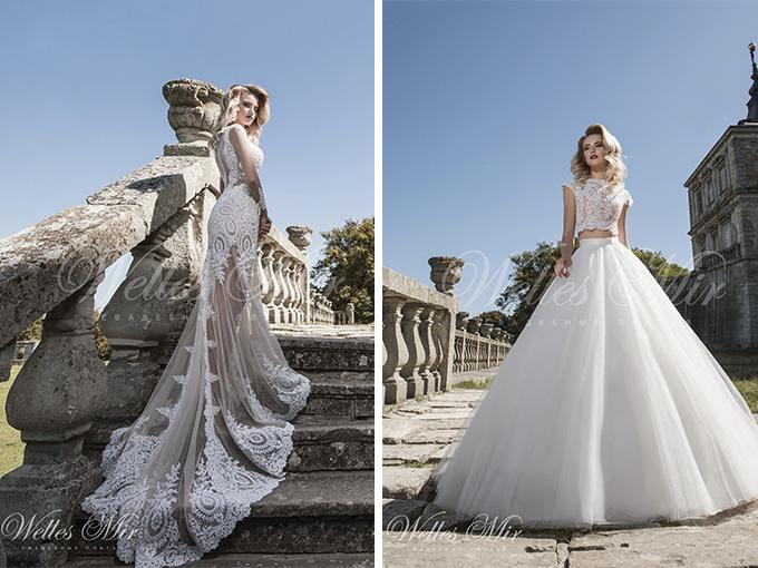 Свадебные платья от компании WellesMir