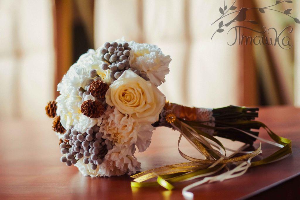 Благотворительный проект 'Свадьба мечты', Букет невесты
