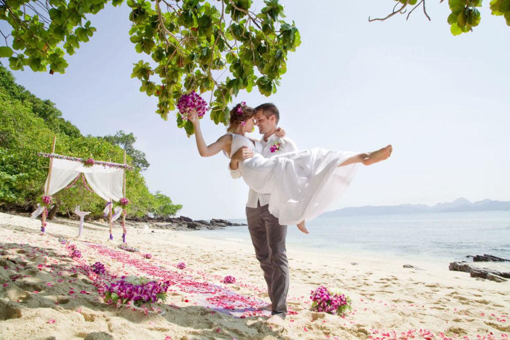 Весілля біля океану