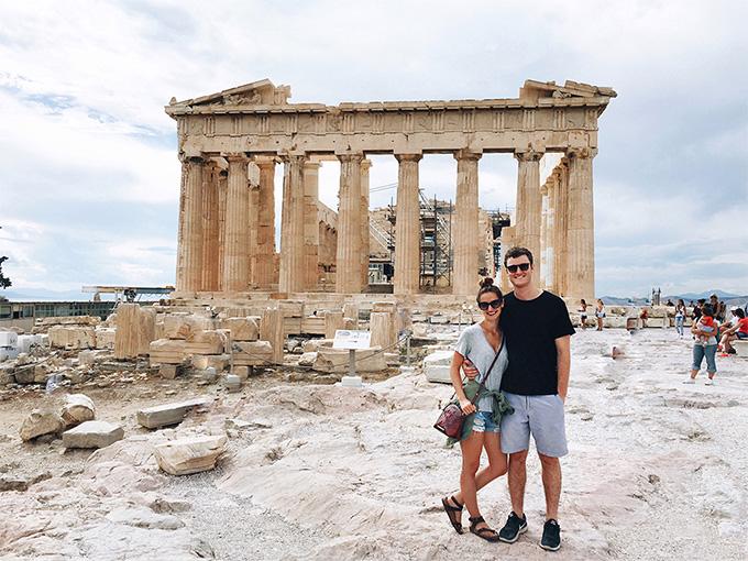Медовый месяц в Греции - Афины