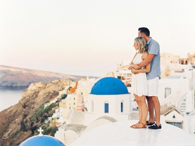 Медовый месяц в Греции - Санторини