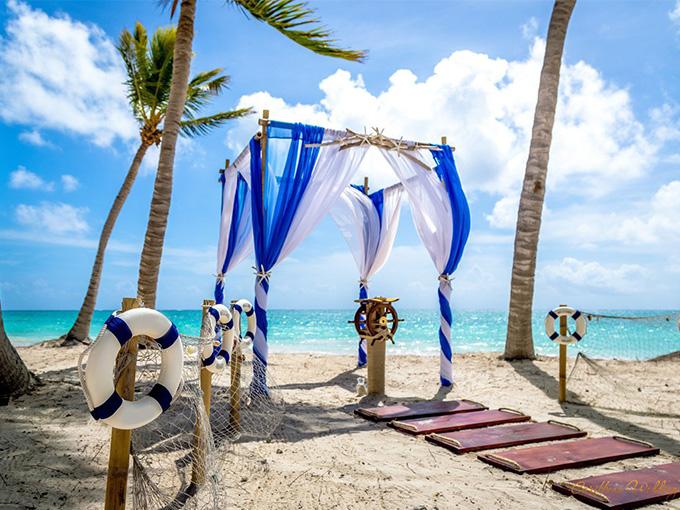 Место проведения свадьбы в морском стиле, свадьба в морском стиле