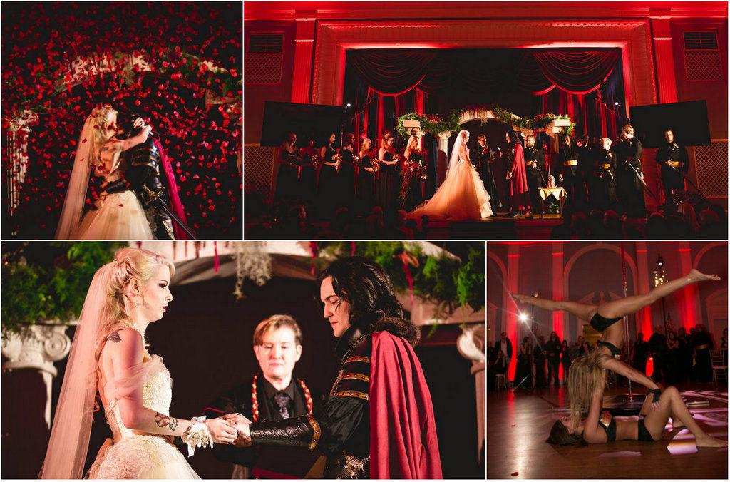 Вампирская свадьба Логана Зюйда и Дэйли Екатерины