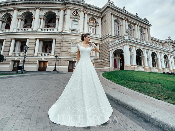 Свадебное платье от компании LuceSposa