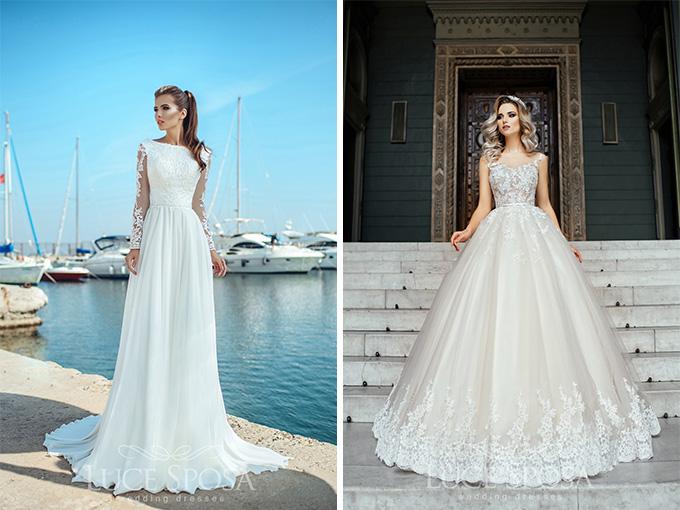 Свадебные платья от компании LuceSposa