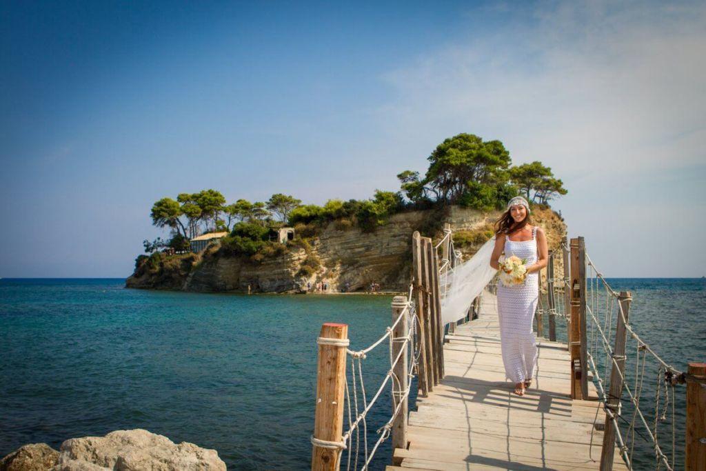 Весільна сукня для весілля на островах