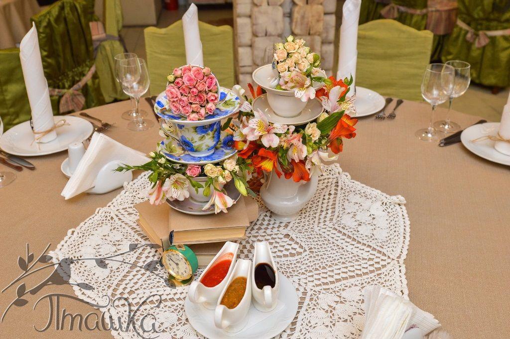 Оформление свадьбы от мастерской декора 'Пташка'