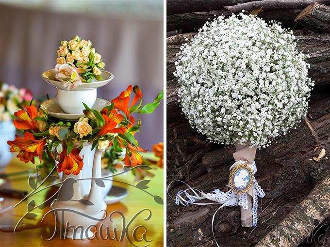 Цветы от мастерской декора 'Пташка'