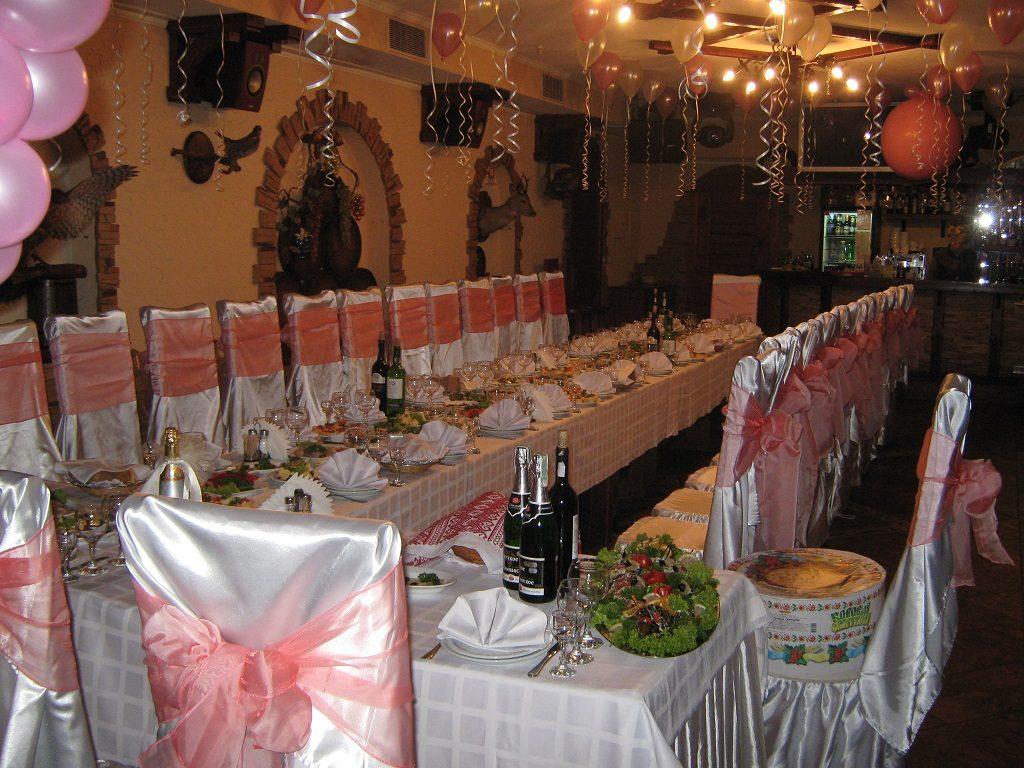 Свадьба в ресторане 'Верховина'