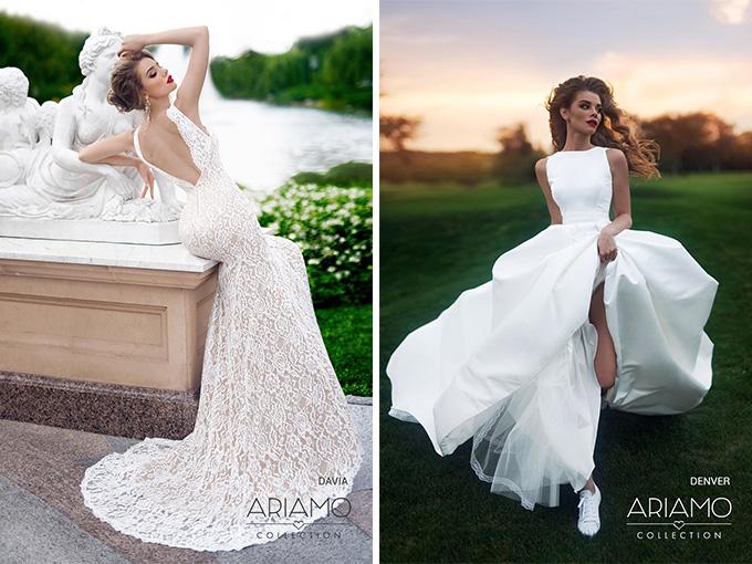 Коллекция свадебных платьев Ariamo