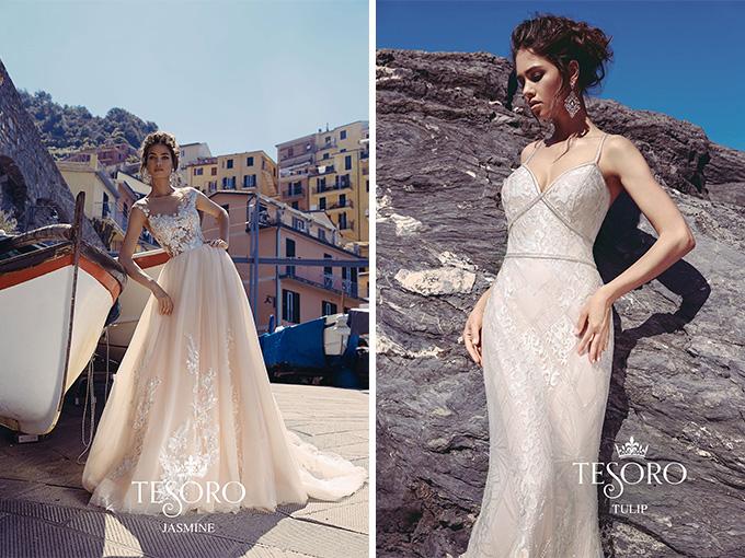 Свадебные платья коллекций 2018 года