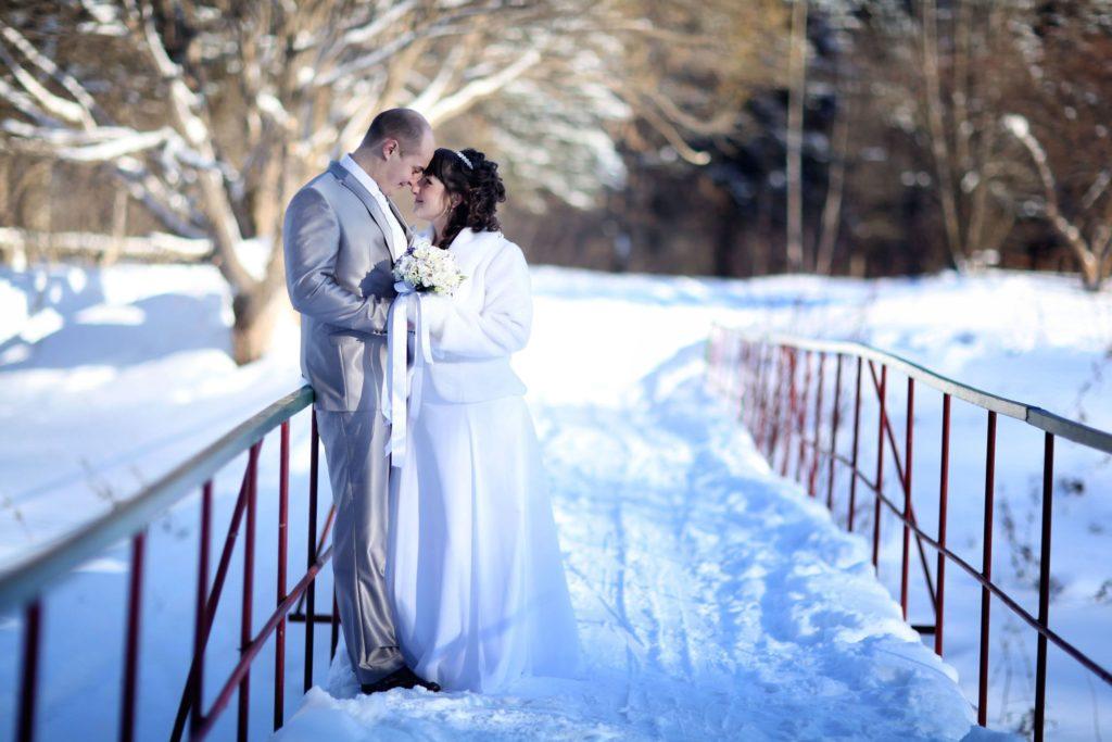 свадьба-зимой