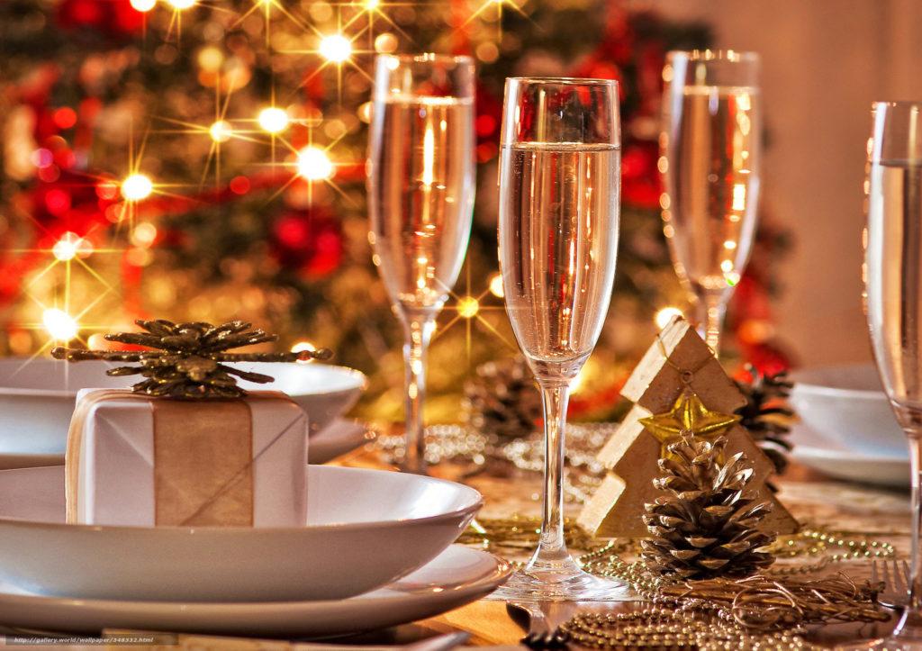 Новогодняя ночь в кафе 'Кристина'