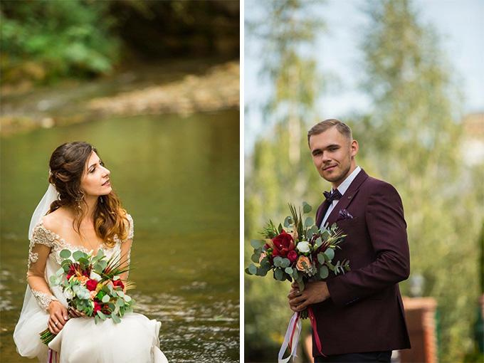 Сказочная свадьба от студии флористики Kvitka