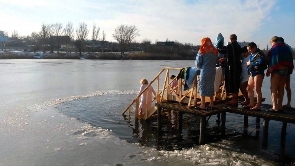 Крещенские купания в Зимней Фазенде