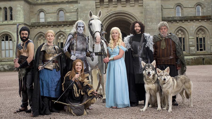 Свадьба в стиле 'Игра престолов'