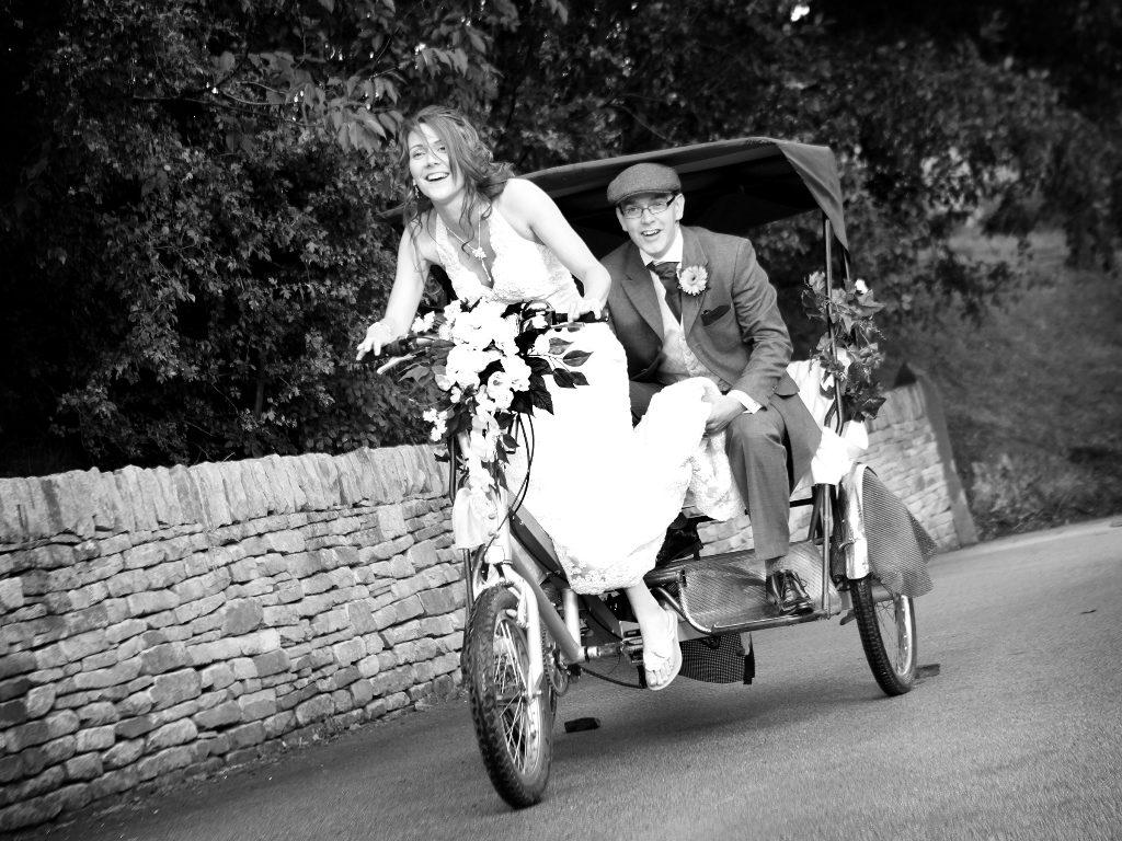 Спортивная велосипедная свадьба