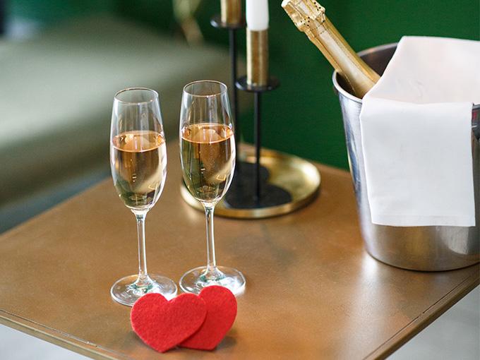 День Святого Валентина  в ресторане 'Липский'