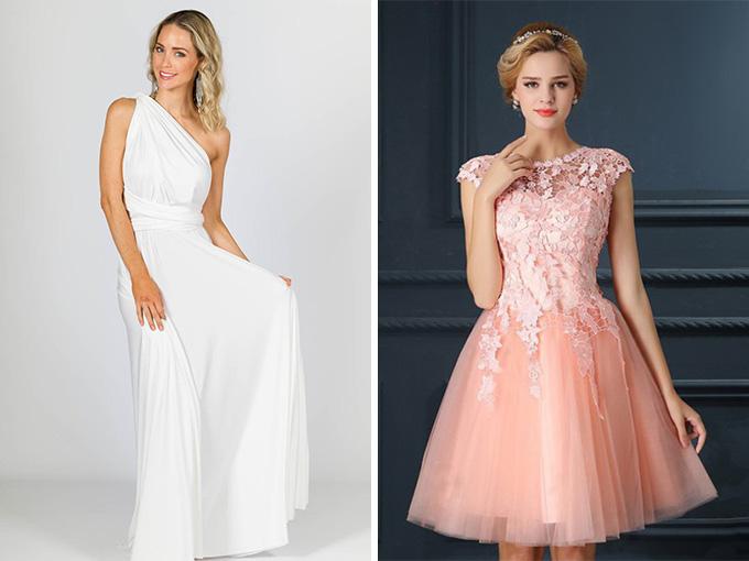 Платья в гречесском и коктейльном стиле