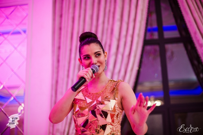 Яркая, зажигательная и темпераментная Алина Башкина порадовала безупречным вокалом и своей харизмой!