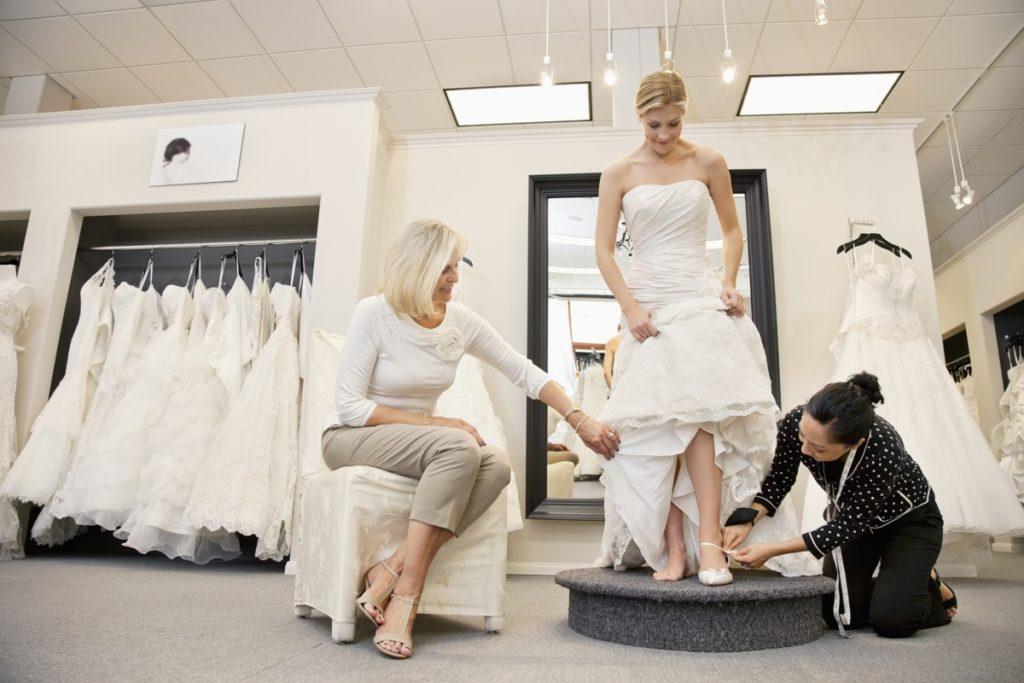 Выбор свадебного наряда