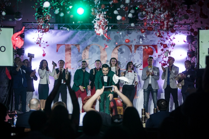 Другий Фестиваль-конкурс майстрів конферансу 'Тост Fest 2018' відбувся