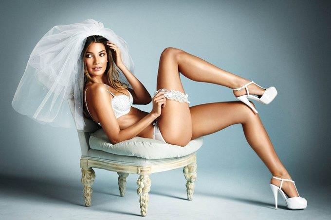 Белое нижнее белье под платье невесты