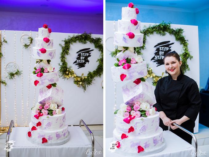 Огромный шоу-торт от Ирины Яроцкой на Step by Step IV