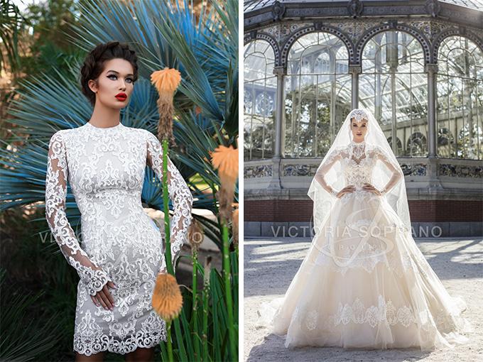 Свадебные платья от бренда ТМ Victoria Soprano